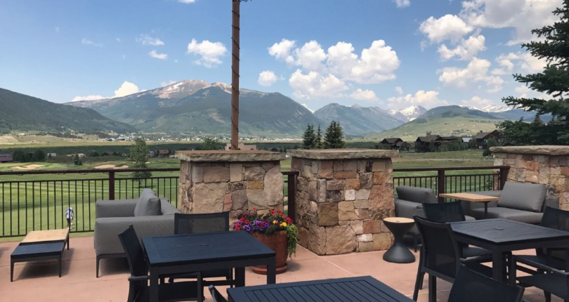 Summer Vacation at Crested Butte, Colorado