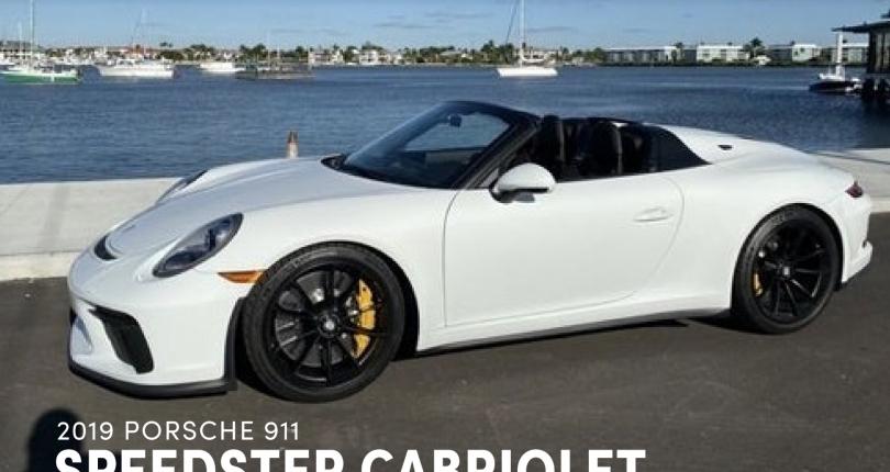 2019 Porsche 911 Speedster Cabriolet